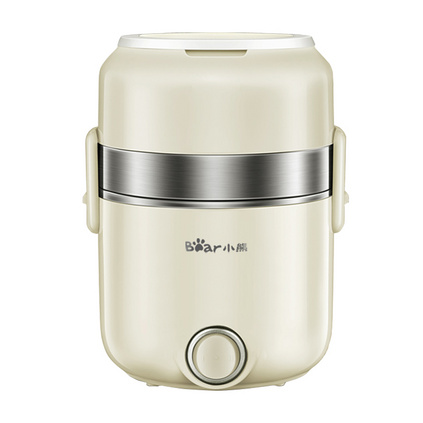 小熊(Bear)电热饭盒2L DFH-B20Q5 三层上班族加热蒸饭器保温饭盒定制