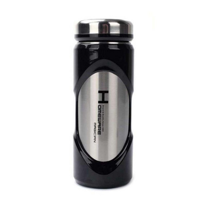家魔仕HM-1565 力動真空直杯 雙層不銹鋼保溫杯定制 350ml