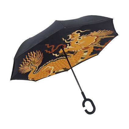 格格爱上班 故宫御用反向晴雨伞 双层伞 故宫礼物 太阳伞雨伞定制