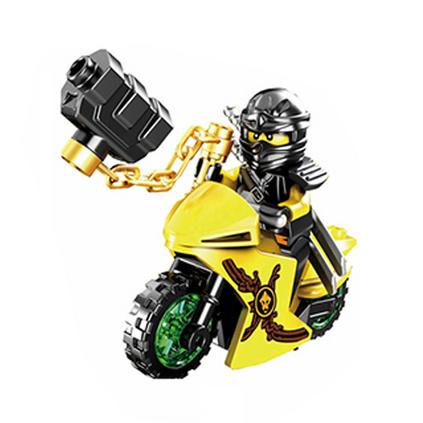 人仔武器摩托车积木玩具定制