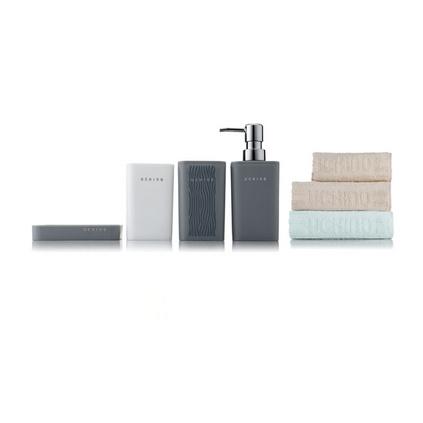 内野UCHINO JD71672-N 素色静雅卫浴七件套礼盒组定制