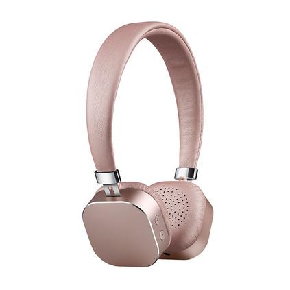 卡農 A1 粉晶無線藍牙耳機頭戴式手機電腦通用插卡音樂耳機定制