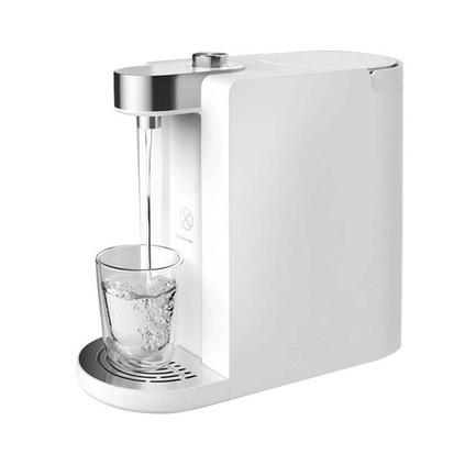 小米有品 心想即熱飲水機3L 即熱式飲水機 家用臺式飲水迷你水壺沖泡茶機一鍵智能速熱4段水溫電熱水壺定制