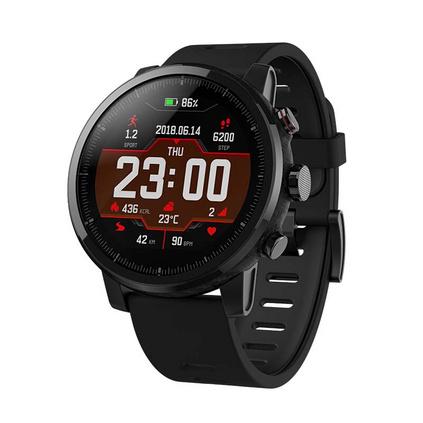 Amazfit 智能運動手表2 華米科技出品 50米游泳防水 GPS定位 心率 Firstbeat運動智能運動手表定制