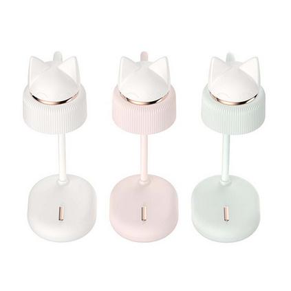 LED学生护眼小台灯USB充电宿舍阅读床头小夜灯可爱充电ins少女夜灯猫咪小台灯定制