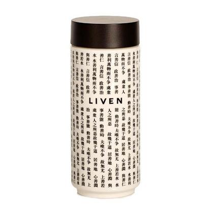 乾唐軒活瓷LIVEN水德系列雙層隨身杯陶瓷杯水杯定制