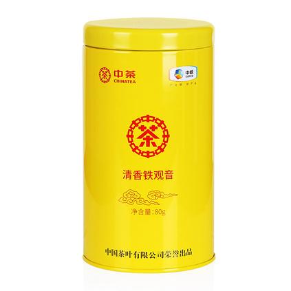 中粮中茶一级铁观音80g