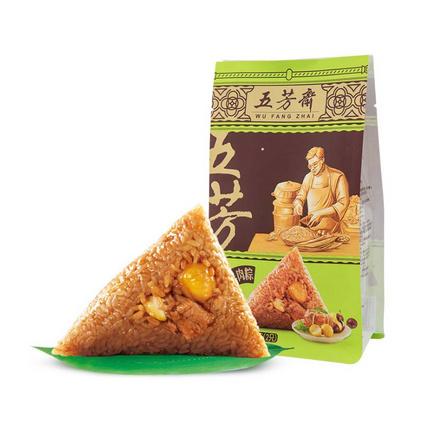 五芳斋粽子真空140克*2只栗子鲜肉粽礼盒定制