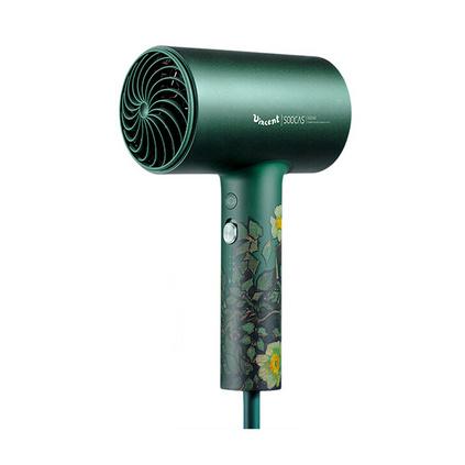 素士电吹风家用负离子大功率速干冷热风恒温护发吹风筒IP礼盒款H5梵高绿升级版定制