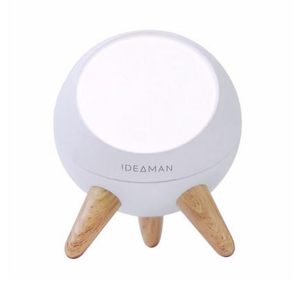 iDeaman萌眼大眼燈 手勢紅外線人體感應燈 臥室床頭夜燈北歐風格床頭小夜燈裝飾燈氛圍燈定制