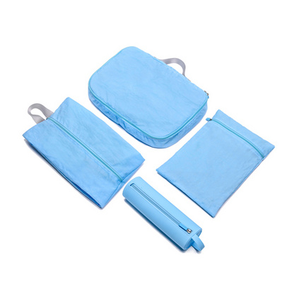 朗弗羅旅行收納四件套 衣物袋內衣袋鞋袋洗涑包套裝定制