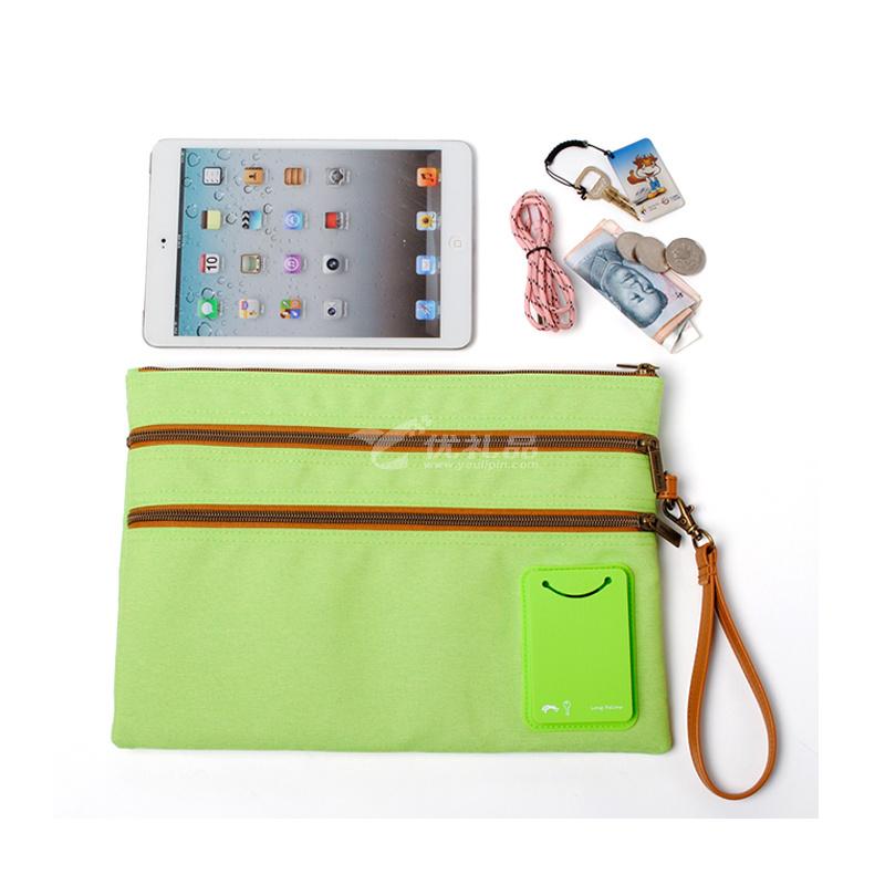 大容量文件包IPAD包 文件袋書本袋學生課本包手拿袋定制