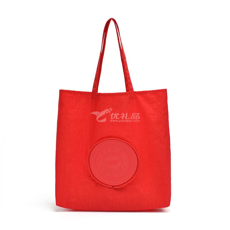 朗弗罗创意硅胶收纳挎包休闲单肩手提袋旅行收纳袋定制