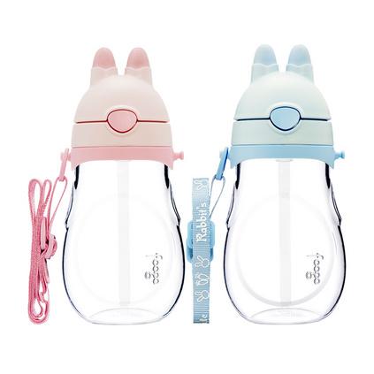 膳魔師foogo系列大兔子吸管杯 兒童夏季寶寶水杯防摔水杯定制