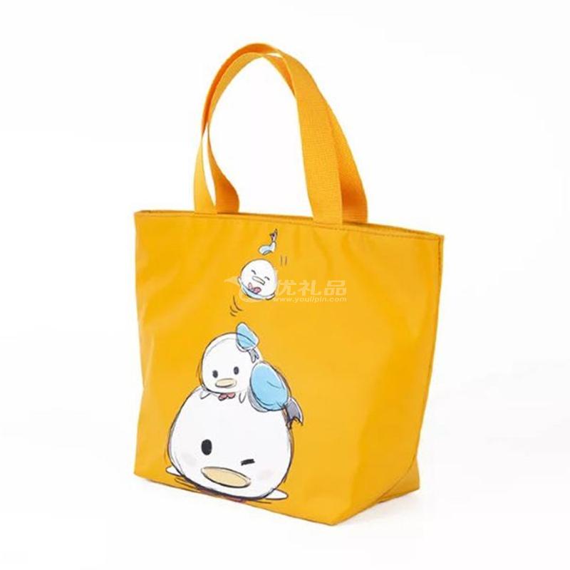 创意卡通可爱米奇米妮儿童成年实用防水饭盒袋便当袋定制