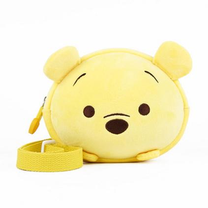 迪士尼兒童小包包公主米妮斜挎包可愛卡通零錢包單肩包定制