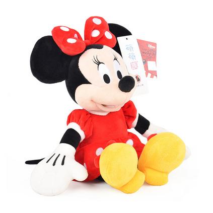 正版迪士尼米奇米妮公仔玩偶毛绒玩具米老鼠布娃娃公仔定制