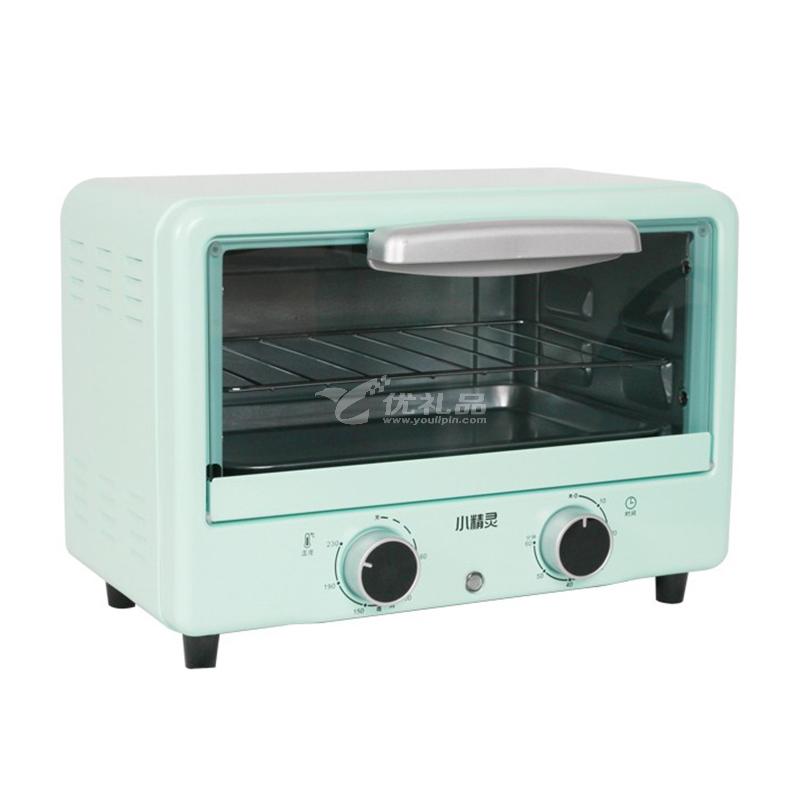 小精靈迷你烤箱 CFA-Q12B 立式蒸烤一體家用小烤箱定制