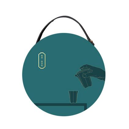 如意便携式随行旅行简茶器套装 白瓷陶瓷茶具套装定制