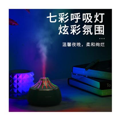 迷你usb加濕器 靜音七彩夜光燈噴霧器定制