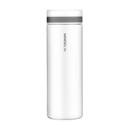 名創優品(MINISO)不銹鋼內膽 300ml保溫杯戶外通用真空保溫杯定制