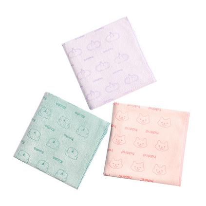 名创优品/MINISO 超细纤维萌趣动物毛巾定制