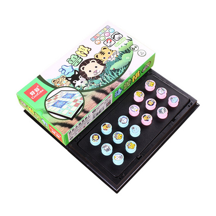好彩 GOODCOKOR 磁性斗兽棋智力休闲亲子互动游戏棋 儿童棋类益智玩具定制