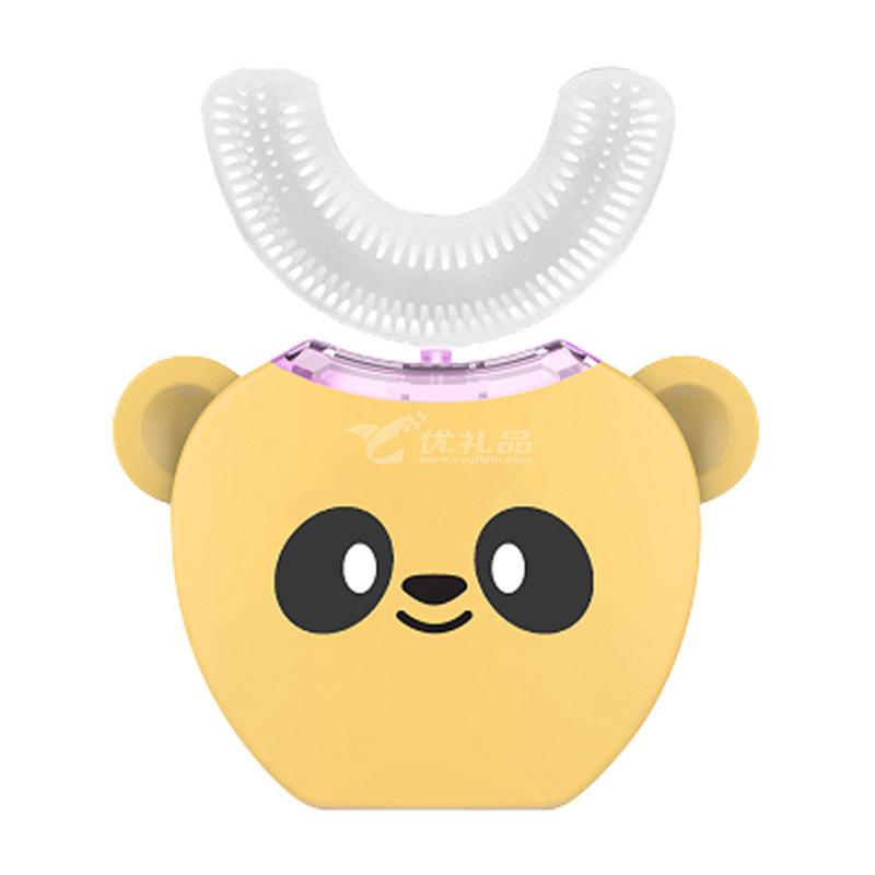V-WHITE兒童幼兒智能全自動口含式U型電動牙刷充電式寶寶牙刷定制