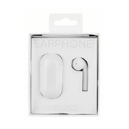 MINISO名創優品真無線藍牙單耳耳機 無線運動蘋果安卓通用降噪耳機定制