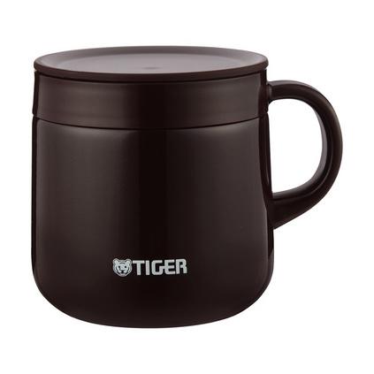 虎牌(TIGER)MCI-A28C 280ml不锈钢双层迷你真空保温保冷杯 办公杯咖啡杯水杯定制