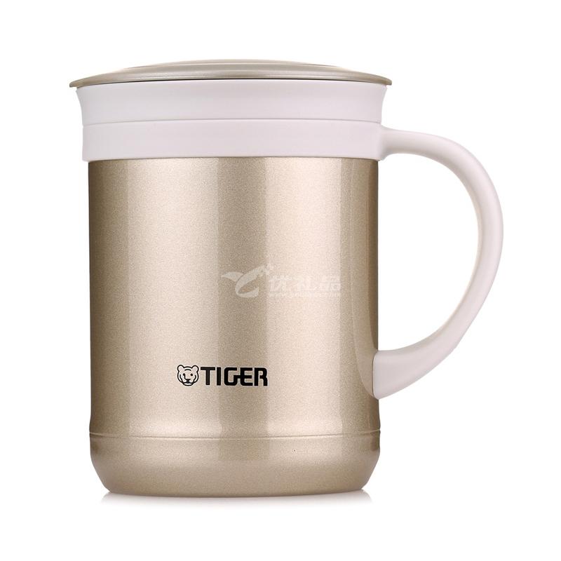 TIGER/虎牌CWM-A035 350ml保温杯 办公型不锈钢真空杯茶滤网杯水杯定制