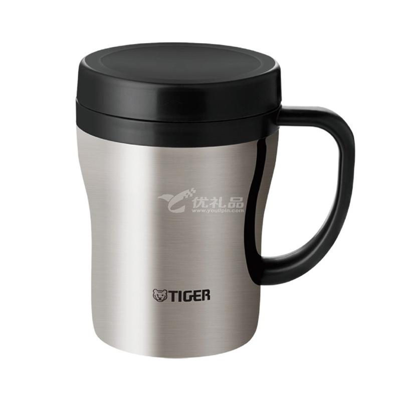 Tiger/虎牌保温杯CWN-A36C 360ml 不锈钢真空办公杯 男女时尚带茶滤网泡茶水杯定制