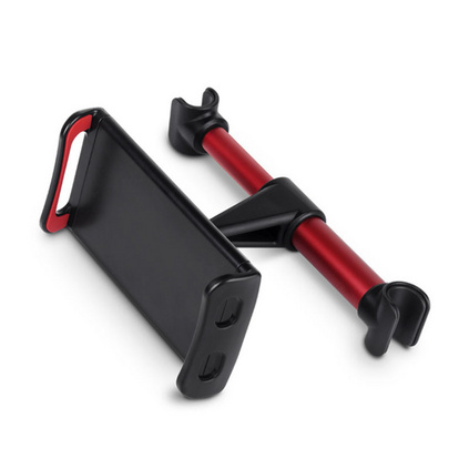 手机车载后座支架 汽车座椅后枕平板防滑懒人伸缩手机支架定制