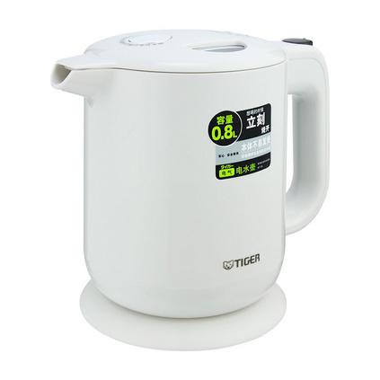 虎牌(Tiger)PFY-A08C 0.8L電水壺 食品級304不銹鋼電水壺定制