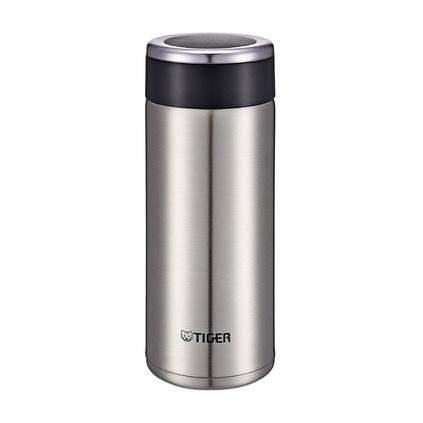 虎牌(TIGER)保溫杯 MMW-A36C 真空標準型保冷杯360ml不銹鋼男女商務水杯定制