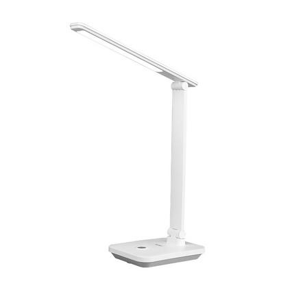 康铭 KM-D6008 LED充电灯触摸无极调光环形发光 卧室宿舍床头阅读灯定制