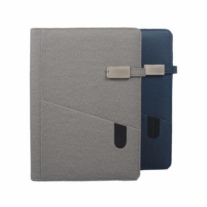 會議記錄本可充電A5活頁夾筆記本 多功能創意筆記本定制