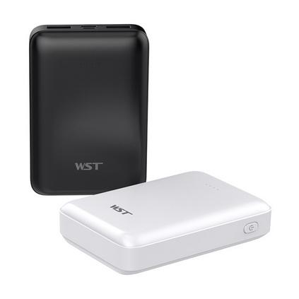 WST 超薄充電寶移動電源10000毫安輕薄小巧迷你便攜手機充電寶定制