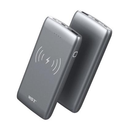 WST 快充無線充電寶手機移動電源大容量10000毫安雙向快充定制