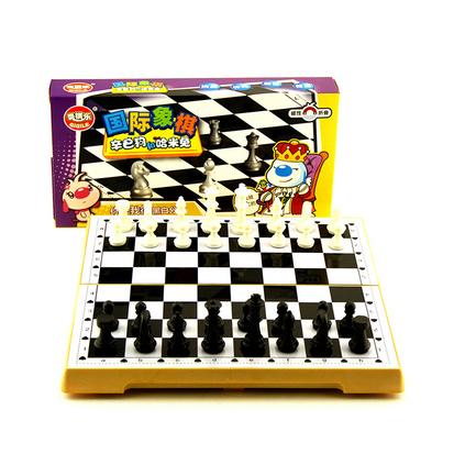 辛巴狗便携折叠磁性棋 益智休闲科教玩具 国际象棋定制
