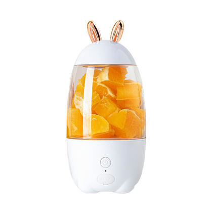 小兔榨汁机 家用电动学生多功能榨汁杯 水果小型充电迷你炸果汁机定制