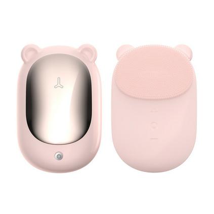 叁活 萌宠学生超声波洁面仪电动硅胶洗脸仪面部洗护美容仪定制