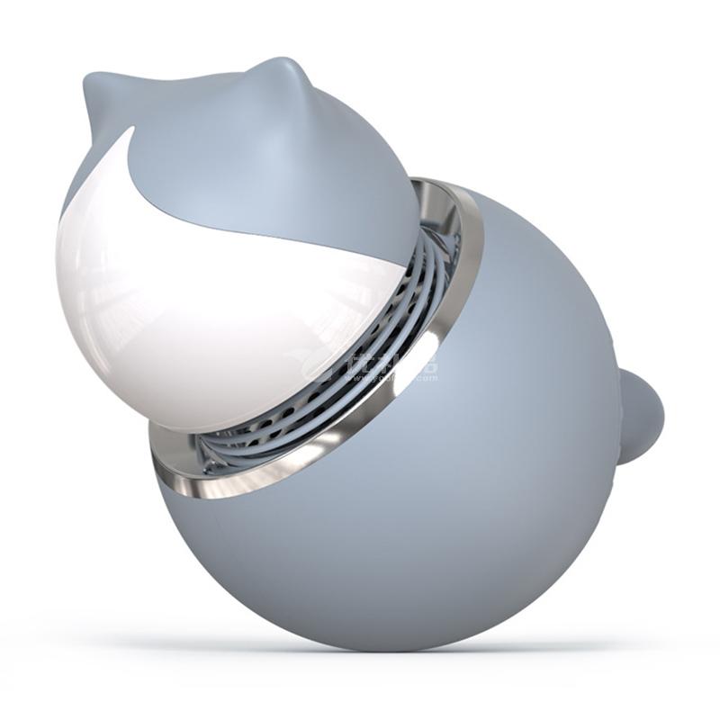 叁活 创意香薰机家用车载猫咪夹子扩香机卧室办公室固态香熏扩香机定制