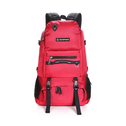 双肩包男女旅行包 户外轻便旅游包 休闲大容量登山书包定制
