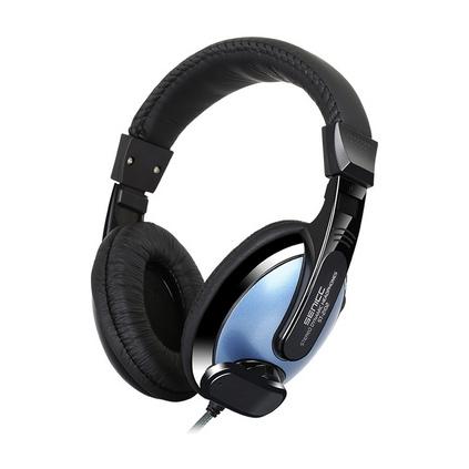 声丽ST2102头戴式教学耳机 电脑耳麦有线控带麦克风耳机定制
