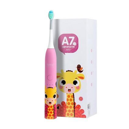 ApiYoo 荷蘭艾優A7卡通聲波震動無線充電防水兒童電動牙刷定制