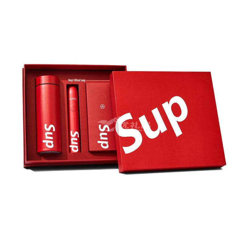 日本格沵(GERM)&艾優聯名高檔精致禮盒保溫杯電動牙刷SUP潮品組合裝定制