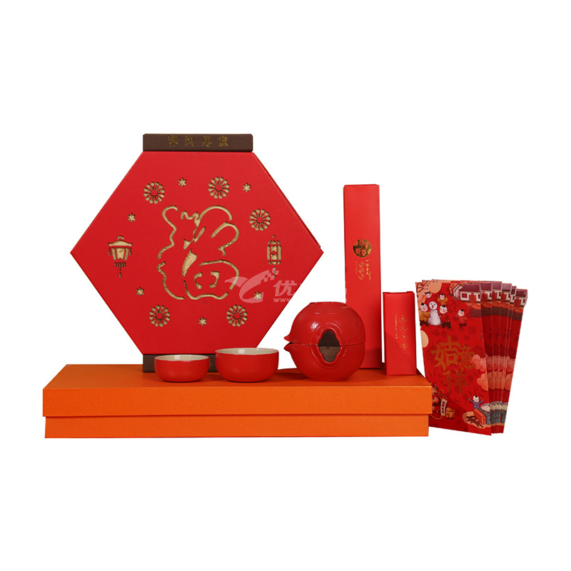 新春創意旅行茶具 粗陶功夫茶具套裝便攜茶具套裝定制