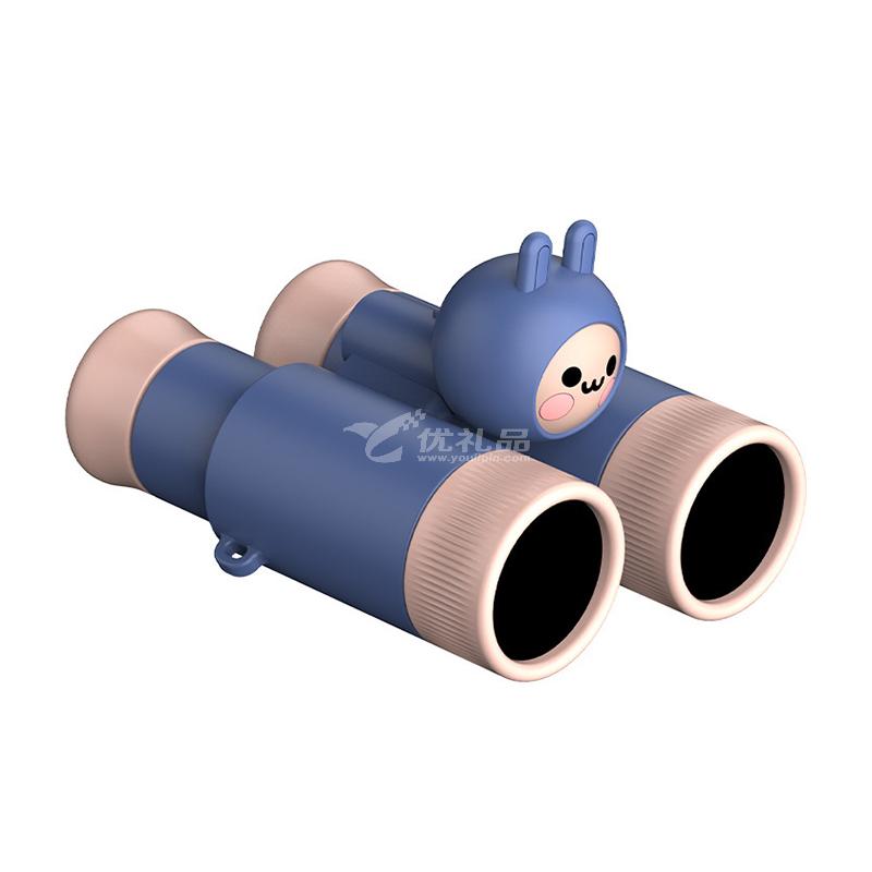 兒童望遠鏡單雙筒高清放大鏡戶外科教玩具分享式兒童望遠鏡定制