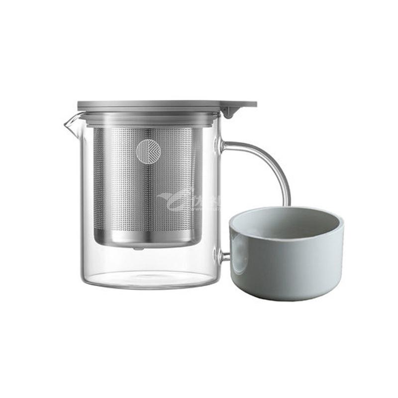 北鼎 玻璃泡茶壺500ml 耐高溫家用過濾茶具沖茶器 花果茶杯水壺定制